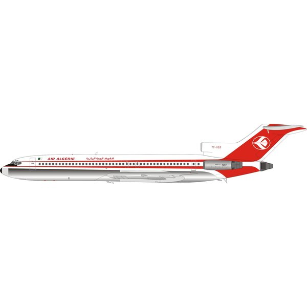 InFlight B727-200 Air Algerie old livery 7T-VEB 1:200 polished +preorder+