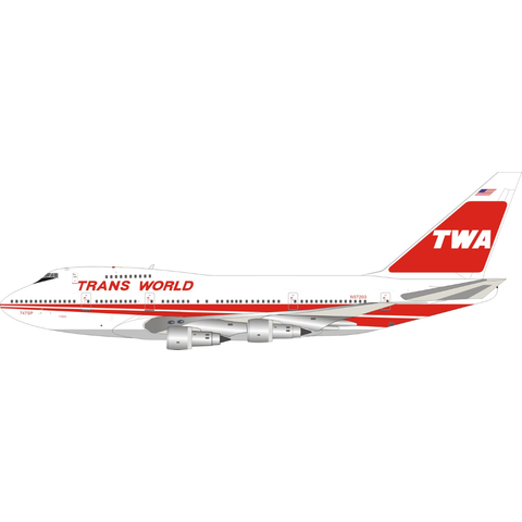 B747SP TWA Trans World Airlines N57203 1:200 +Preorder+