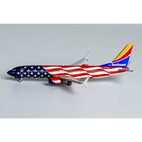 B737-800S Southwest Airlines Freedom One N500WR 1:400