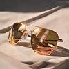 Aviator 22K Rose Gold Skyforce™ Polarized Rose Gold
