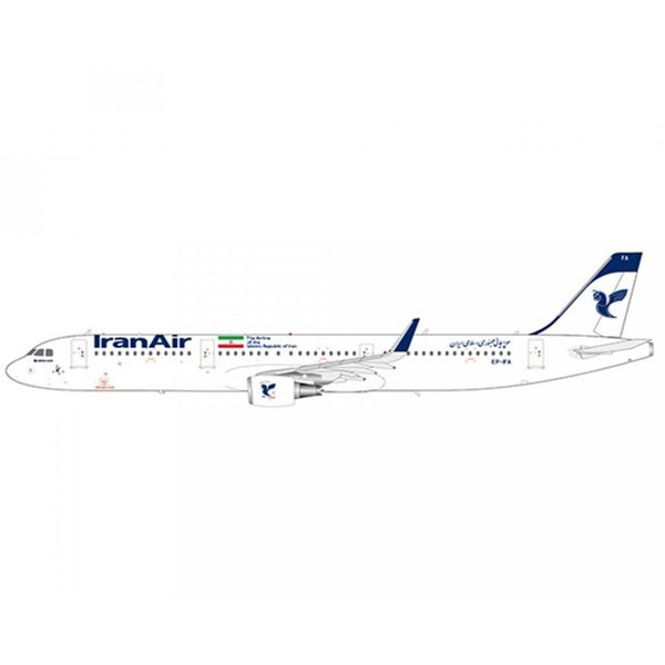 JC Wings A321 Iran Air EP-IFA 1:200 with stand +Preorder+