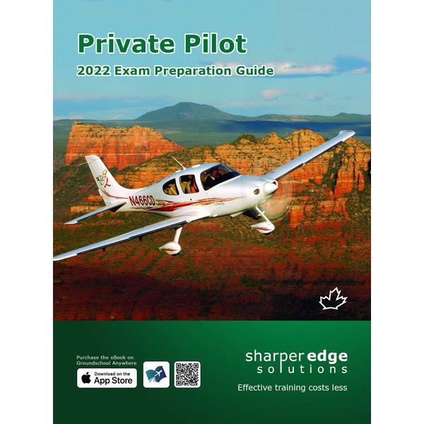 Sharper Edge Private Pilot Exam Preparation Guide 2022