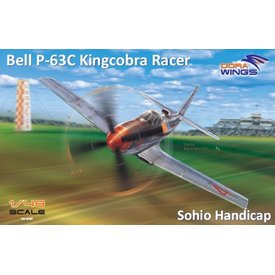 DoraWings Bell P63A Kingcobra Racer (Sohio Handicap) 1:48