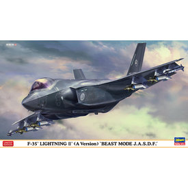 "Hasegawa F35A Lightning II (A Version) ""Beast Mode JASDF"" 1:72"