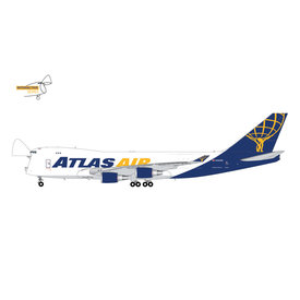 Gemini Jets B747-400FAtlas Air N492MC 1:400 Interactive Series  *Preorder*
