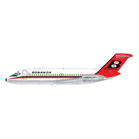 Gemini Jets DC9-11 Bonanza Airlines N945L 1:200 polished belly *Preorder*