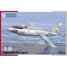 Special Hobby Bell X-1B NACA Modification Program 1:72
