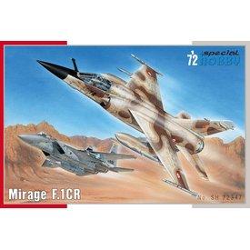 Special Hobby Dassault Mirage F.1CR 1:72