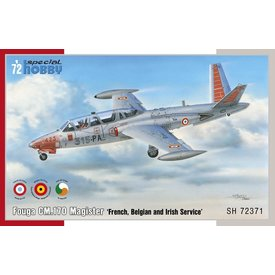 Special Hobby Fouga CM.170 Magister 'French, Belgian and Irish Service' 1:72