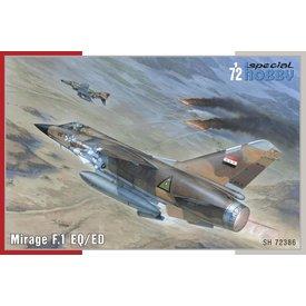 Special Hobby Dassault Mirage F.1EQ/ED 1:72