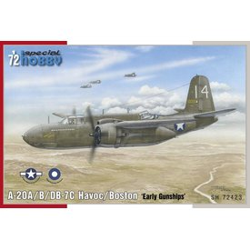 Special Hobby Douglas A-20B/C Havoc 'Early Gunships' 1:72