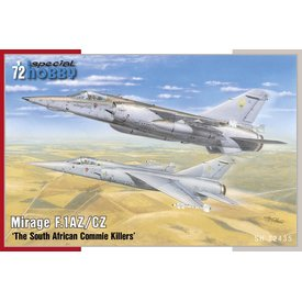 Special Hobby Dassault Mirage F.1AZ/CZ 'The South African Commie Killers' 1:72