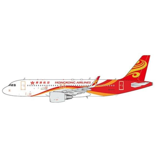 JC Wings A320 Hong Kong Airlines B-LPO 1:400 +Preorder+