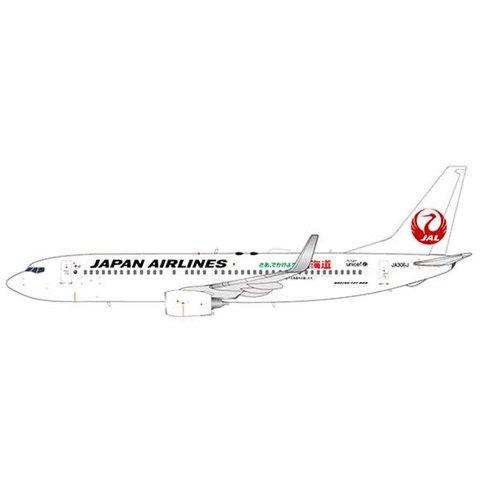 B737-800 JAL Support Hokkaido JA306J 1:400 +preorder+