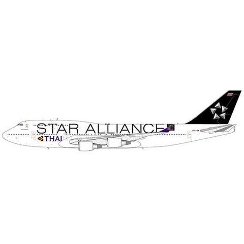 B747-400 Thai Airways HS-TGW Star Alliance 1:400 flaps +Preorder+