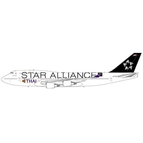 JC Wings B747-400 Thai Airways HS-TGW Star Alliance 1:400 flaps +Preorder+