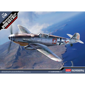 """Academy Bf-109G-6/G-2 """"JG 27"""" 1:48 [Ex-Hobbycraft]"""