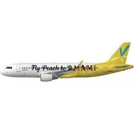 Phoenix A320S Peach Aviation AMAMI JA08VA 1:400 sharklets +preorder+