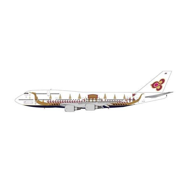 Phoenix B747-400 Thai Airways Royal Barge HS-TGO 1:400 +preorder+