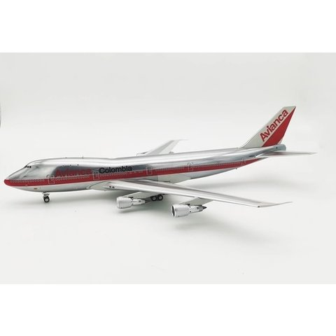 B747-100 Avianca N9664 1:200 polished with stand +preorder+