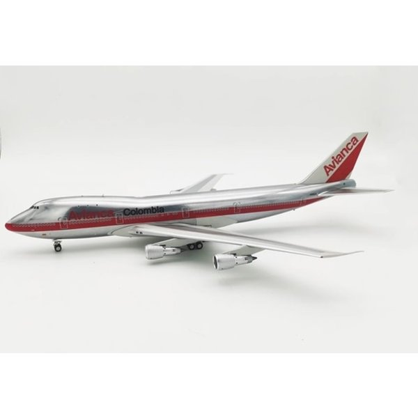 InFlight B747-100 Avianca N9664 1:200 polished with stand +preorder+