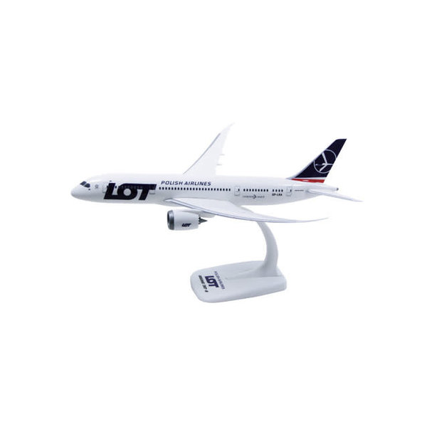 PPC Models B787-9 Dreamliner LOT Polish SP-LSB 1:200 with stand