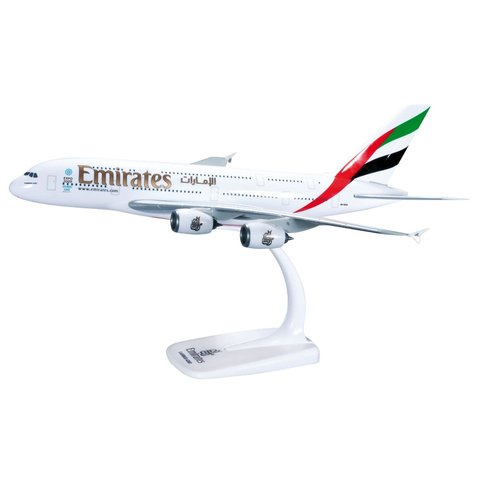A380-800 Emirates A6-EEP 1:250 with stand