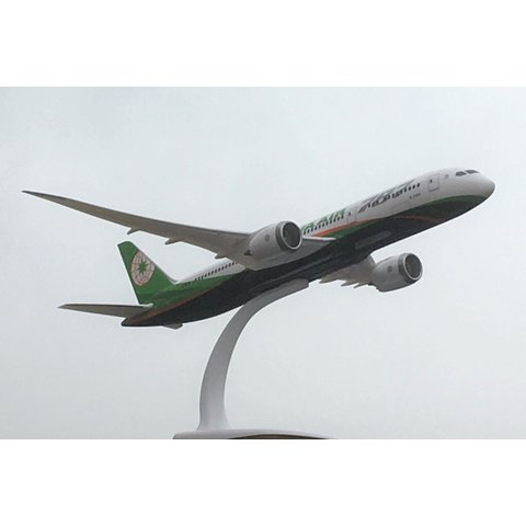 B787-9 Dreamliner EVA Air B-17881 1:200 with stand