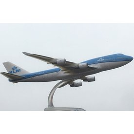 PPC Models B747-400 KLM 2014 livery PH-KLM 1:250 with stand