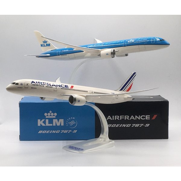 PPC Models B787-9 Dreamliner KLM & Air France 1:200 duo-set