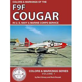 Detail & Scale Aviation Publications Colors & Markings of the F9F Cougar in US Navy and MC: C&M 1 SC