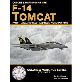 Detail & Scale Aviation Publications Colors & Markings of the F14 Tomcat: Part 1 SC