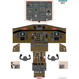 Aviation Training Graphics Cockpit Training Poster ATR 42