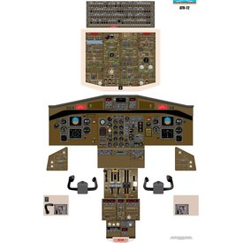Aviation Training Graphics Cockpit Training Poster ATR 72