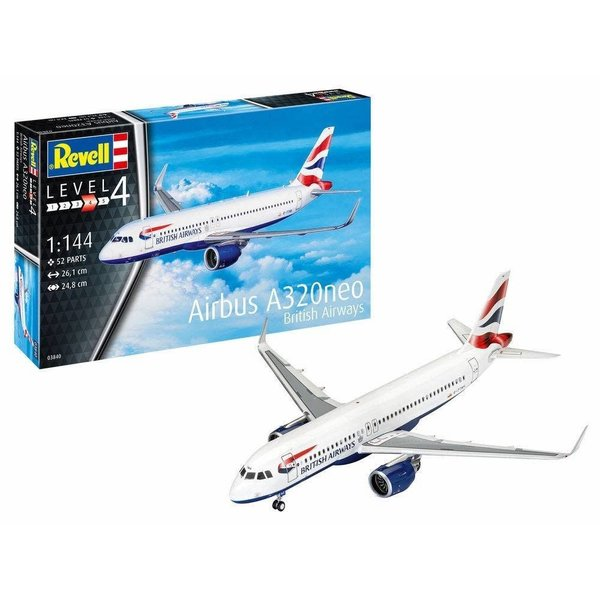 Revell Germany A320neo Britsh Airways 1:144 [with gear ]