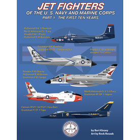 Detail & Scale Aviation Publications Jet Fighters of the U. S. Navy and Marine Corps: Part 1 SC
