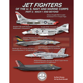Detail & Scale Aviation Publications Jet Fighters of the U. S. Navy and Marine Corps: Part 2 SC