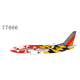 NG Models B737-700W Southwest N214WN Maryland One Canyon Blue tail 1:400 +Preorder+