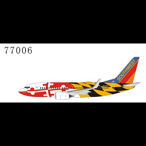 B737-700W Southwest N214WN Maryland One Canyon Blue tail 1:400 +Preorder+