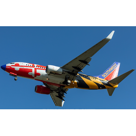 NG Models B737-700W Southwest N214WN Maryland One Canyon Blue nose 1:400 +Preorder+