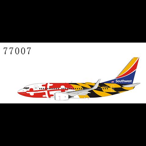 B737-700W Southwest N214WN Maryland One heart tail 1:400 +Preorder+