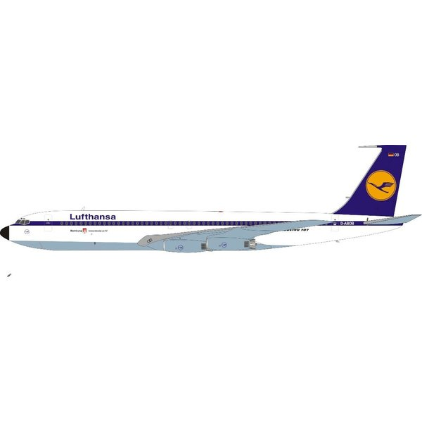 InFlight B707-400 Lufthansa 1967 livery D-ABOF Hamburg 1:200 +preorder+