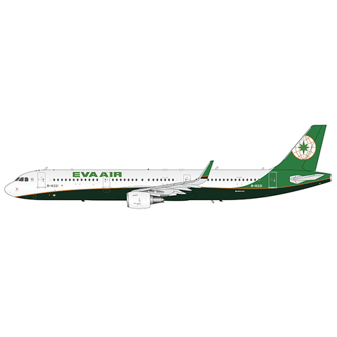 A321S EVA Air B-16221 1:200 Sharklets with Stand +Preorder+
