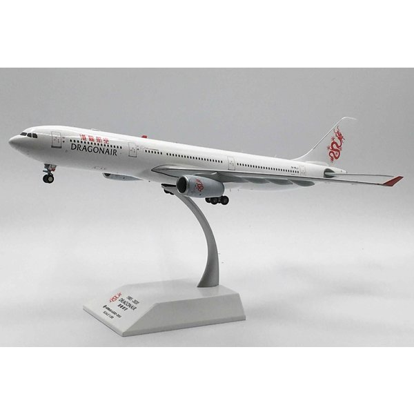 JC Wings A330-300 Dragonair B-HLJ  1:200 with stand