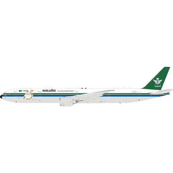 JC Wings B777-300ER Saudia 75th Ann. Retro HZ-AK28 1:200 flaps +Preorder+