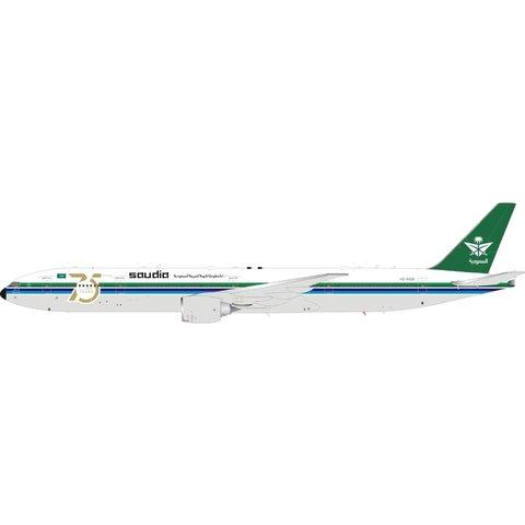 B777-300ER Saudia 75th Ann. Retro HZ-AK28 1:400 flaps +Preorder+