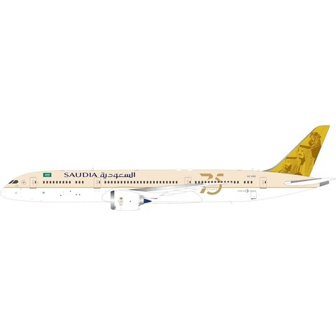 B787-9 Dreamliner Saudia 75th Anniversary HZ-ARE 1:400 flaps +preorder+
