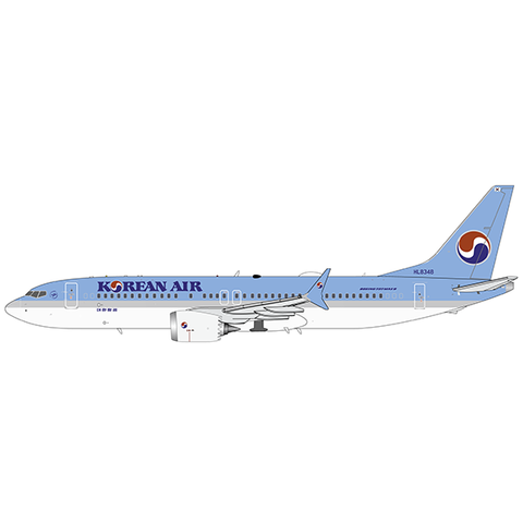 B737-8 MAX Korean Air HL834 1:200 with stand +preorder+