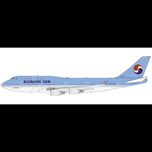 JC Wings B747-400 Korean Air HL7461 1:400 +preorder+