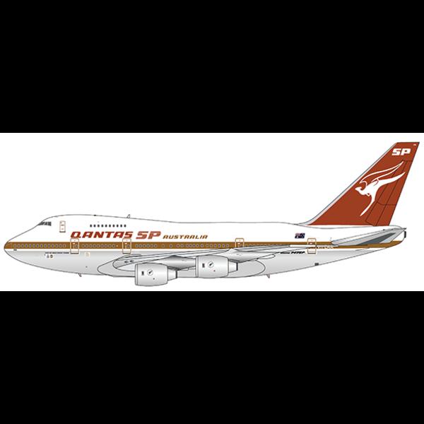 JC Wings B747SP QANTAS SP gold cheatline VH-EAA 1:400 +preorder+